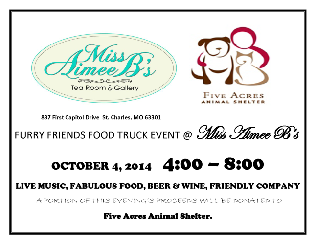 FURRY FRIENDS FOOD TRUCK EVENT