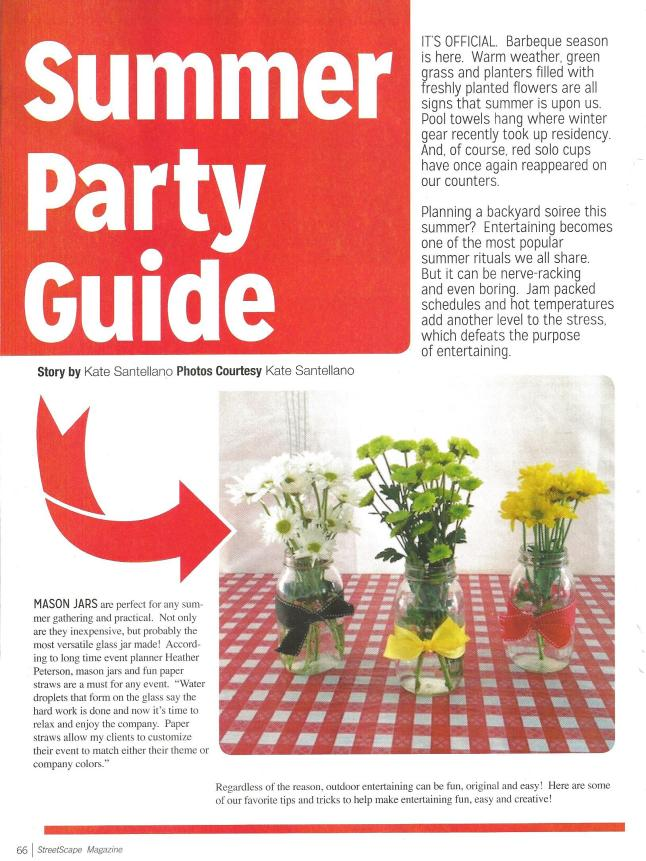 Streetscape Summer Party Guide